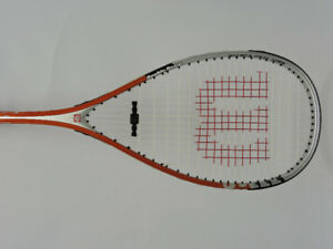 Wilson Punisher Double Beam Titanium Racquetball Racquet & Cover