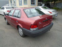 1998 Toyota Tercel 4 CL Sedan Comes With Sefety & E Test