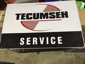 Tecumseh  Service sign