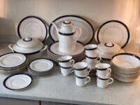 Royal Doulton Bone China Dinnerware 60 piece set, worth £1700 if bought new!