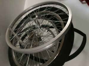 20 inch wheels, aluminum and steel new