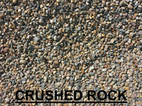 ** Crushed Rock - Base Gravel - Sand ** Delivery or Pick up