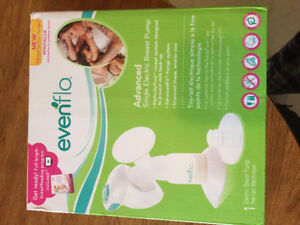 Evenflo advanced single electric breast pump