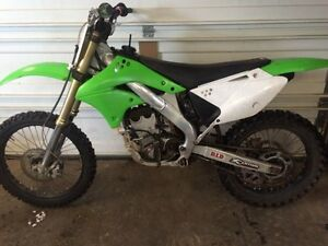08 kx 250 f / trade for racer
