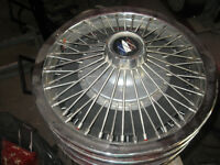 Buick Wire Wheel Covers