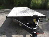 Used Saturn H.D. Flat Deck Trailer