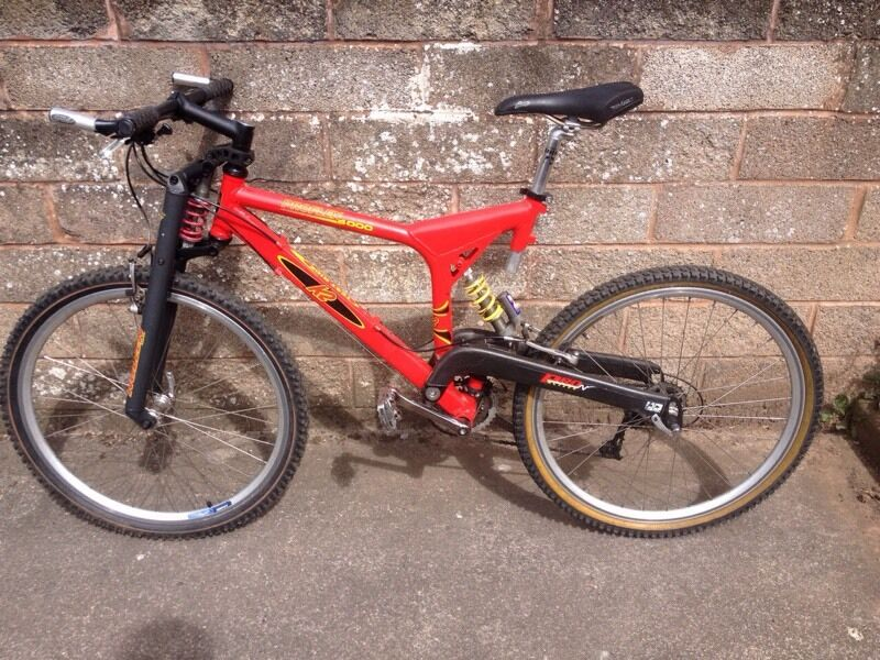 K2 Proflex 4000 Rare Vintage Mountain Bike Carbon Swing
