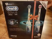 Oral-B Genius 8900 Electric Rechargeable Toothbrush Powered by Braun