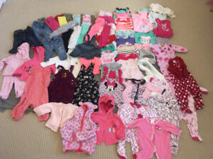 Infant girl clothes size 6-9 months