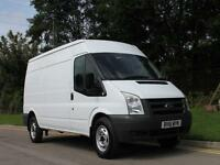 2011 61 FORD TRANSIT 350 LONG AND HIGH 115BHP