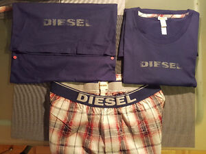 Diesel T-shirt&Pants with Original Carrying Bag-The Best Package