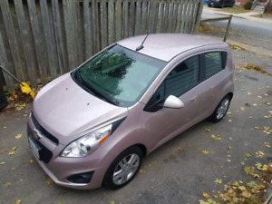 2013 pink chevy spark certified
