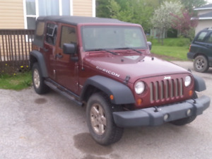 Cheapest 4door Rubicon online in Canada