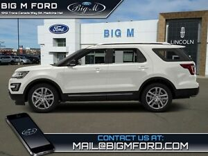 2016 Ford Explorer XLT   - one owner - local - trade-in - non-sm