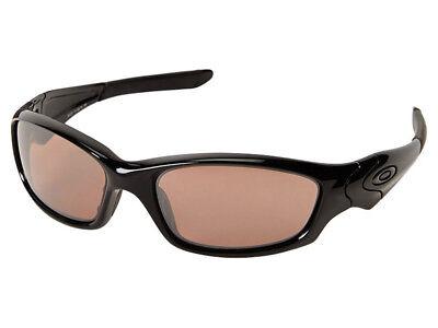 Oakley Straight Jacket Sunglasses 26-254J Polished Black/VR28 Black Asian (Straight Jacket Oakley Sunglasses)
