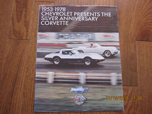 Chevrolet Presents the Silver Anniversary Corvette Sarnia Sarnia Area image 1