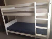 White pine bunkbed