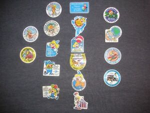VERNON WINTER CARNIVAL BUTTONS