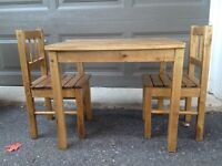 Childrens table and chairs (Ikea)