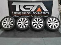 """21"""" Genuine OEM Range Rover Discovery Alloy Wheels & Tyres HY32-1007-FA"""
