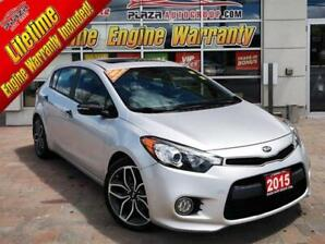 2015 Kia Forte 1.6 SX AT Luxury Fully Loaded, Sunroof, Leather, N