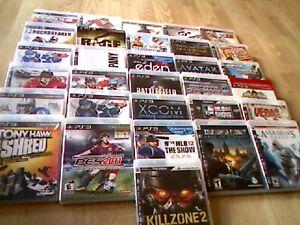 31 jeux play-station 3 en bonne condition