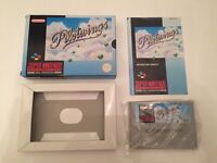 Pilotwings SNES Pal Boxed and complete Super Nintendo very nice condition