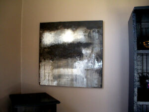 orginal acrylic abstract canvas painting