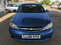 2008 Chevrolet Lacetti 1.6 SX - MOT UNTIL: 20 FEBRUARY (NO ADVISORY)