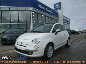 2013 Fiat 500C Lounge Soft top Bluetooth Heated Leather Seats