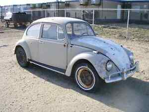 VW BUG BEETLE AIR COOLED VOLKSWAGEN WANTED