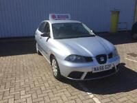 2007/56 Seat Ibiza 1.2 Petrol 12V 5 Door Manual Long MOT Spares Or Repairs