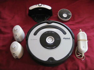 iRobot Roomba 560 Pet + 2 Virtual Walls + Remote + Charging Base
