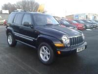 2007/07 Jeep Cherokee 2.8TD ( 161bhp ) 4X4 Auto Limited