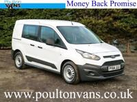 2015 (64) FORD TRANSIT CONNECT 220 L1 H1 SWB 5 SEAT CREW CAB VAN,95PS, Small