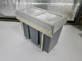 Innostor x3 Recycling Bin in Cupboard Pull out