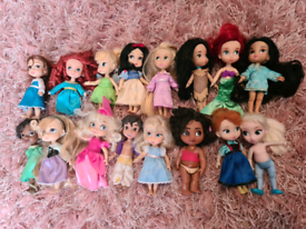 Disney store animator dolls collection