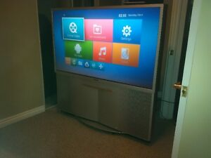 "57"" sony TV for free"