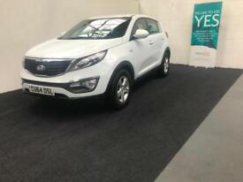 Kia Sportage 1.7CRDi ( 114bhp ) ISG 2014MY 1 finance available from £40 per week