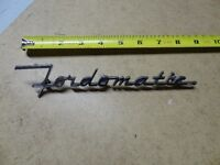 1951 Ford Fordomatic badge