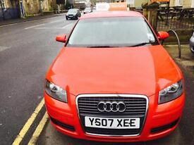 Audi A3 1.9TDI Special Edition 2007MY DIESEL RED 2 OWNERS FSH PX TO CLEAR