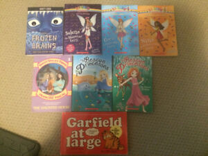 Assorted Lot of Young Readers Chapter Books