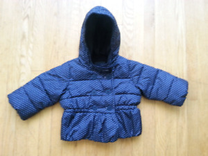Baby Gap Girls Winter Coat 6-12 months