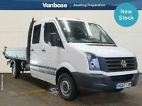 2017 Volkswagen Crafter 2.0 TDI BMT 140PS Double Cab Tipper Tipper Diesel Manual