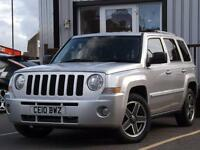 2010 Jeep Patriot 2.0 CRD Limited Station Wagon 4x4 5dr 5 door SUV