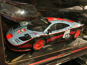 1/18 diecast ut mclaren f1 gulf Le Mans long tail new