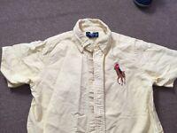 Boys Ralph Lauren Shirt Age 7