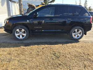 2014 Jeep Compass Black SUV, Crossover