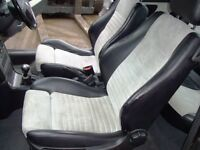 Vauxhall Astra Bertone coupe front seats