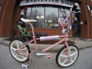 Customize your Old School/Mid School BMX @ Harvester Bikes!